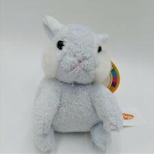 "Melissa & Doug Baby Bunny Hops 7675 Blue Plush 4"" Rabbit"