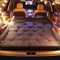 Inflatable SUV RV Car Air Mat Bed Mattress Car Travel Sleeping Pad Camping Mat