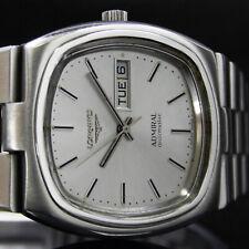 Mens LONGINES Admiral Q/S Day Date Vintage Watch Ref. 2355 – 1 – 636