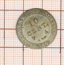 Colonies Louis XVIII 10c de billon Guyane Française