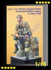 Resin Model Kit Kirin 1/16 Sergeant Major Parachute Division Foigore (OOP)K21537