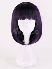 Sailor Moon Sailor Saturn Tomoe Hotaru Cosplay Purple Straight Medium Wig