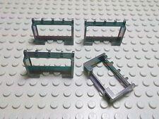 Lego 4 Dachhalter Halter 1x4x2 schwarz  4214 Set 4541 6450 6596 7727