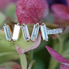 Brillant Diamant Ring 0.35 ct 750er Gelbgold ELFENZART ZICKZACKKURS SW2.290.-EUR
