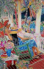 Susan Patricia - SONGBIRD Ltd Ed. Serigraph on canvas hand signed with a COA.