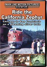 Ride the California Zephyr in the 1950s and 1960s DVD Chicago to San Francisco