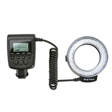 Nuevo Anillo LED Macro Flash para Canon Nikon Olympus Panasonic DSLR
