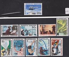 AUSTRALIAN ANTARCTIC TERRITORY 1963 SC #L8-18 MINT NH  CV$ 56.25
