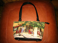 WOMEN'S CAFE PURSE~L@@K~SO CUTE~NEAT DESIGN