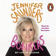 Bonkers: My Life in Laughs by Jennifer Saunders ( 7 CD-Audio, 2013)NEW SEALED