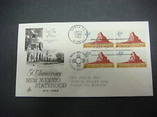 First Day of Issue,FDC,1962 50th Ann.,NEW MEXICO STATEHOOD,Santa Fe N Mex., 4c