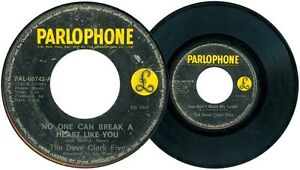 Philippines The DAVE CLARK FIVE No One Can Break A Heart Like You 45 rpm Record