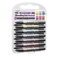 Letraset Promarker Blending Set 12 Pen & Blender  Muted