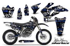 AMR RACING MOTORCYCLE NUMBER PLATE DECAL MX KIT YAMAHA WR 250 450 F 07-12 SHUBGK