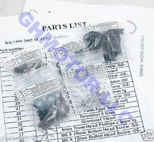 NEW 99 00 01 02 SUZUKI SV650S SILVER COMPLETE FAIRING BOLTS SCREWS KIT USA
