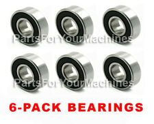 6 Spindle Deck Bearings For Simplicity, Lawnmowers, Repl 1705897, 1666292, 40R