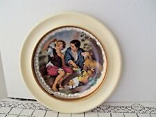 Cassidy LTD Plate Beggar Boys and A Dog Made in Western Germany Frame Damaged