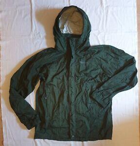 Marmot Outdoor Regenjacke * Größe 48 - M * Unterarm RV * Kapuze * Unisex * Grün