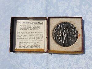 1915 Sinking of Lusitania (German) Propaganda Medal in Original Box