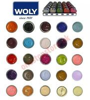 Woly Shoe Cream polish restore for leather bags, shoes all colours  - 50ml Jar
