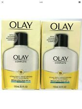 Olay Complete Daily Moisturizer & SPF 15 Sensitive 2-pack 4oz Bottles
