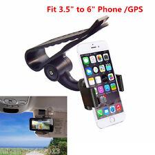 Car Sun Visor Clip Mount Holder Stand Bracket For All Cell Phone iPhone 6/6S 7