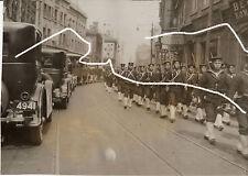 23x17cm ORIG vintage archivado foto 1932 japón china Shanghai ghetto WWII wk2 photo
