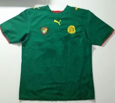 Cameroon Soccer Jersey Adult M Puma Africa #6
