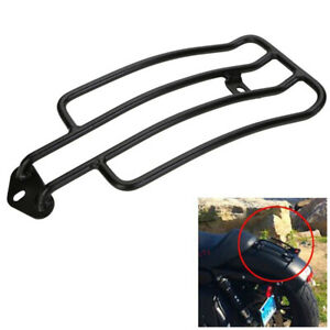 Motorcycle Bike Solo Seat Rear Fender Luggage Rack Holder Universal