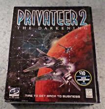 Privateer 2: The Darkening, PC Big Box Vintage Software New