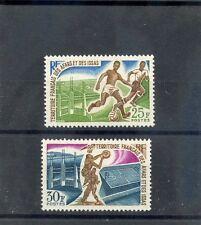 AFARS & ISSAS Sc 15-6(YT 334-5)**VF NH 1967 SPORTS SET $16