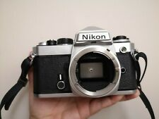 Nikon FE Chrome Body Only 35mm SLR Camera