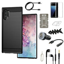 For Samsung Galaxy S10 Plus/S10 Note 10+/Note 10 Case Cover Accessory Bundle