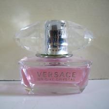 VERSACE Bright Crystal Eau De Toilette Spray 1.7 oz. 50ml - 90% FULL - No Box