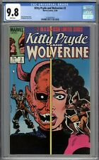 Kitty Pryde and Wolverine #2 CGC 9.8 NM/MT WHITE PAGES