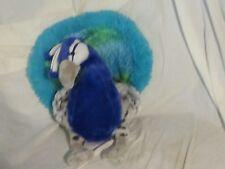 """The Petting Zoo 11"""" Peacock Stuffed Animal"""