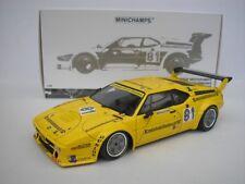BMW M1 #81 PROCAR DRM NORISRING 1979 C. REGAZZONI 1/18 MINICHAMPS 180792991 NEU