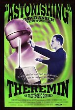 THEREMIN: AN ELECTRONIC ODYSSEY (1993) ORIGINAL MOVIE POSTER  -  ROLLED