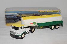 DINKY TOYS 887 TRACTEUR UNIC AVEC SEMI-REMORQUE AIR BP EXCELLENT BOXED