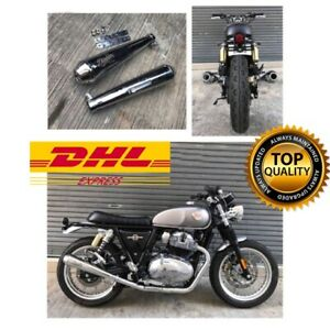 Diablo Slip on For Royal Enfield GT650 & Interceptor 650 Exhaust