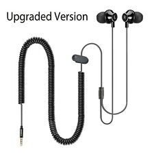 Headphones for TVs with LONG CORD Earbuds 12FT / 3.5M Extension Cable Earphon...