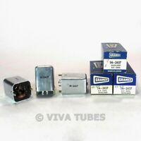 NOS NIB Vintage Lot of 3 Gramer 14-2437 Shielded RF Coils Transformer IF RF
