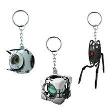 Portal Vinyl Keychain Gift Set: Space Sphere, Refracting Box, & Defective Turret