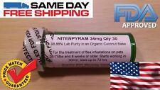 3 Full Month 90 Day Dog 26-75lb Flea Control Killer Capstar Pure Nitenpyram 34mg