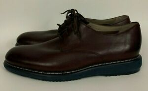 Men's Tor Clarks Kenley Walk Oxford Shoes Burgundy Size 11M Extra Light