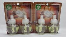 4 Refills Air Wick Life Scents PUMPKIN SPICED LATTE Scented Oil (2 Pack)