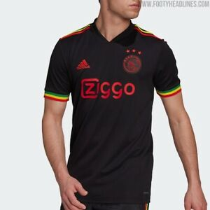 Ajax shirt , 2021-2022 , Bob Marley Tribute - Mens Large -Genuine Adidas 🇯🇲