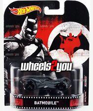 BATMOBILE Batman VS Superman - 2017 Hot Wheels Retro Entertainment REAL RIDERS