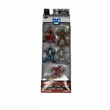 DC Superhero Diecast Mini Metal Figs Pack A