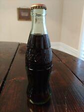 Coca Cola 1923 Christmas Bottle Memphis TN full bottle Coke
